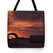 Sun Tunnel Sunset Tote Bag