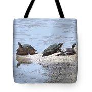 Sun Turtles Tote Bag
