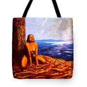 Sun Woman Tote Bag
