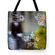 Sunbaked Snowflake Tote Bag