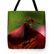 Sunbathing Dragonfly Tote Bag