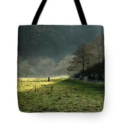 Sunbeams And Mist - Wolfscote Dale Tote Bag