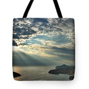 Sunbeams On Dubrovnik Tote Bag