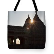 Sunburst At The Temple Of The 64 Yoginis Tote Bag