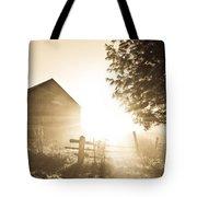 Sunburst On The Farm Tote Bag