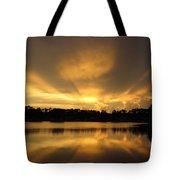 Sunburst Reflection Tote Bag