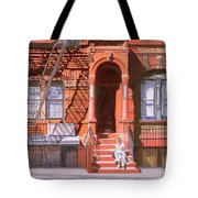 Sunday Afternoon East 7th Street Lower East Side Nyc Tote Bag