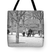 Sunday Afternoon In A Paris Park Tote Bag