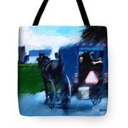 Sunday Buggy Ride Tote Bag
