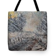 Sunday Morning Blizzard Tote Bag