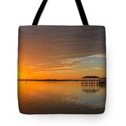 Sunday Morning Glow Tote Bag