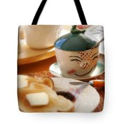 Sunday Morning Jelly Jar Tote Bag