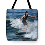 Sunday Morning Surfing Tote Bag