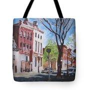 Sunday Morning Williamsport Tote Bag