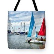 Sunday Sailing 2 Tote Bag