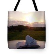 Sunday Sunrise Bible Study Tote Bag