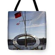 Sundial St Katherines Dock Tote Bag