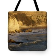 Sundown At Dinosaur Caves Tote Bag