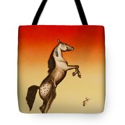 Sundown Dancer Tote Bag