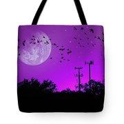 Sundown Fantasy - Violet Tote Bag