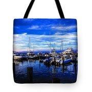 Sundown In Sag Harbor Tote Bag