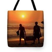 Ocean - Sundown Sunset Tote Bag