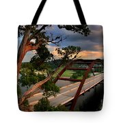 Sundown On Pennybacker 360 Tote Bag