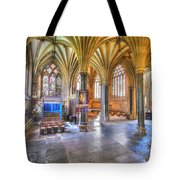 Sunfilled Cathedral Tote Bag