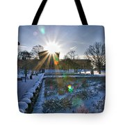 Sunflare At The Back Tote Bag