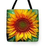 Sunflower - Paint Edition Tote Bag