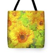 Sunflower 19 Tote Bag