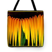 Sunflower Abstract 2 Tote Bag