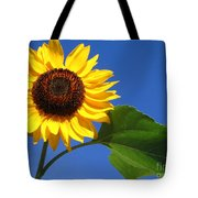 Sunflower Alone Tote Bag