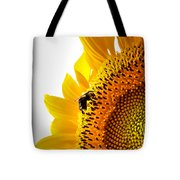 Sunflower And Bee 2 Tote Bag