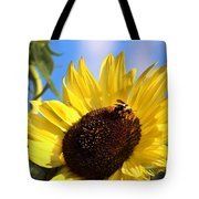 Sunflower And Bee-3879 Tote Bag