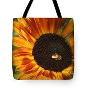 Sunflower And Bee-4041 Tote Bag