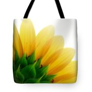 Sunflower Backside Tote Bag