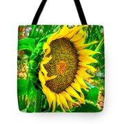Sunflower Bloom Tote Bag