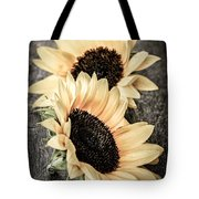 Sunflower Blossoms Tote Bag