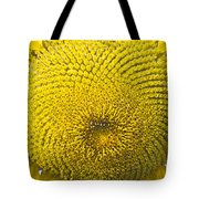 Sunflower Buzz Tote Bag
