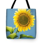 Sunflower Charm Tote Bag