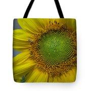 Sunflower Dew-bee Tote Bag