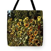 Sunflower Fields Forever Tote Bag