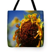 Sunflower Four Tote Bag