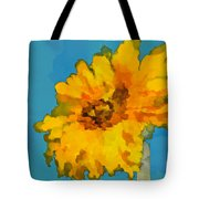 Sunflower Illusion Tote Bag