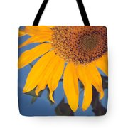 Sunflower In The Corner Tote Bag