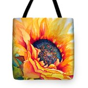 Sunflower Joy Tote Bag