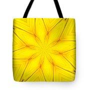 Sunflower Kaleidoscope 1 Tote Bag