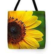 Sunflower Macro Tote Bag