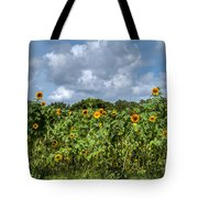Sunflower Maze Tote Bag